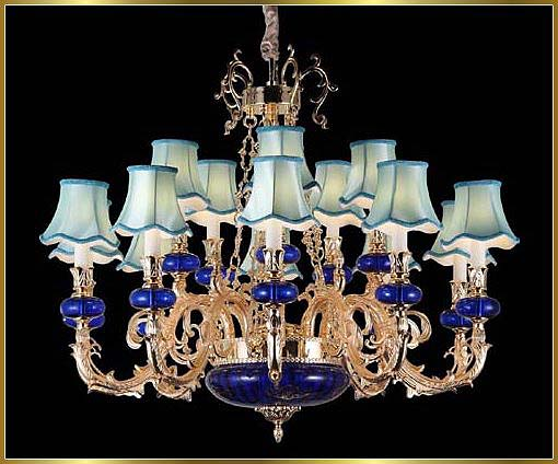 Antique Crystal Chandeliers Model: FS-8976-15