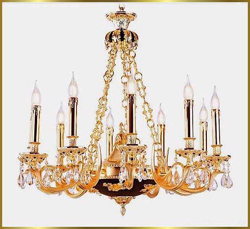 Antique Crystal Chandeliers Model: FS-9005-10