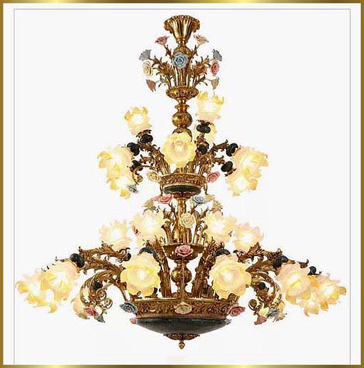 Antique Crystal Chandeliers Model: FS-9023-27
