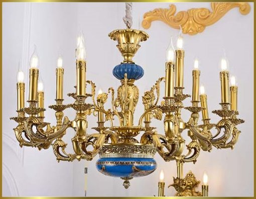Antique Crystal Chandeliers Model: FS-9033-15