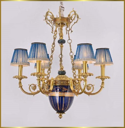 Antique Crystal Chandeliers Model: FS-9036-6