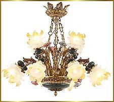 Antique Crystal Chandeliers Model: FS-9023-12