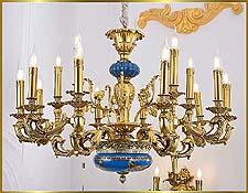 Antique Crystal Chandeliers Model: FS-9033-15