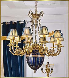 Antique Crystal Chandeliers Model: FS-9036-10