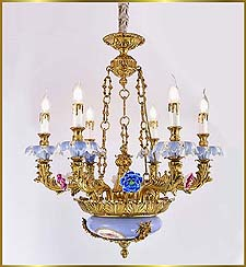Antique Crystal Chandeliers Model: FS-9050-6
