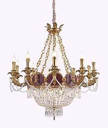 Antique Crystal Chandeliers Model: FS-9091-10