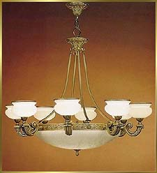 Alabaster Chandeliers Model: ALJ 8876
