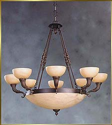 Alabaster Chandeliers Model: CL 2000