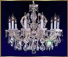 Maria Theresa Chandeliers Model: CL 8110