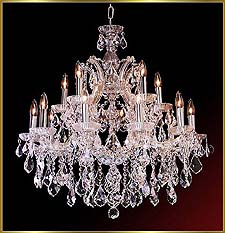 Maria Theresa Chandeliers Model: CL 8136 CH