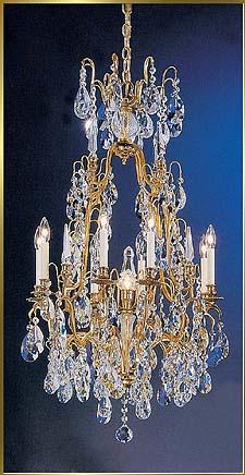 Bronze Crystal Chandelier Model: CL 9010 FG