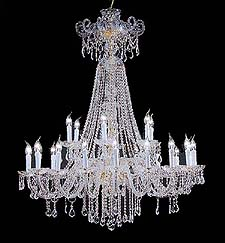 Traditional Chandeliers Model: DREAM 24L