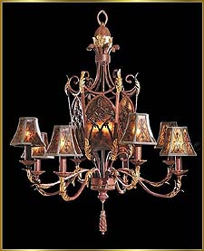 Bronze Crystal Chandelier Model: G20024-8-3