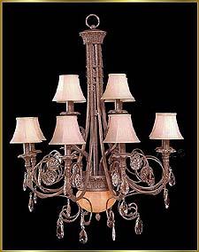 Bronze Crystal Chandelier Model: G20035-8-4-2