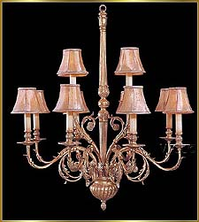 Bronze Crystal Chandelier Model: G20060-8-4