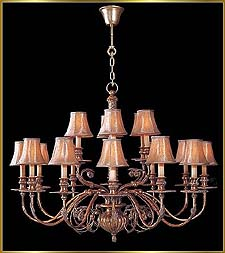 Bronze Crystal Chandelier Model: G20072-12-6