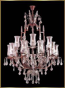 Bronze Crystal Chandelier Model: G20085-10-5-1