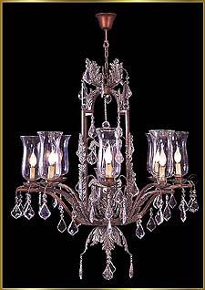 Bronze Crystal Chandelier Model: G20085-8-1