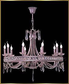 Bronze Crystal Chandelier Model: G20109-10