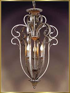 Antique Crystal Chandeliers Model: KB0033-3H
