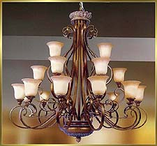 Antique Crystal Chandeliers Model: MD8628-21