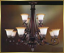 Antique Crystal Chandeliers Model: MD8932-12