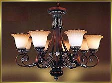 Antique Crystal Chandeliers Model: MD8932-8