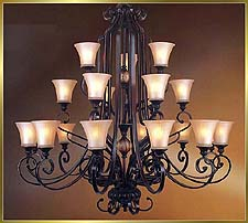 Antique Crystal Chandeliers Model: MD8948-21B