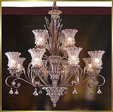 Antique Crystal Chandeliers Model: MD8955-12B