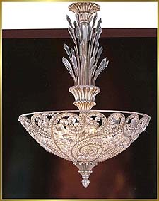 Antique Crystal Chandeliers Model: MD8955-4P
