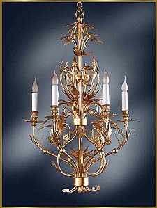 Antique Crystal Chandeliers Model: MG-3300