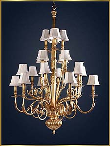 Antique Crystal Chandeliers Model: MG-3450