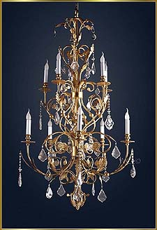 Antique Crystal Chandeliers Model: MG-3500