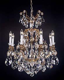 Bronze Crystal Chandelier Model: MD8092-8A