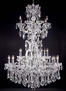 Maria Theresa Chandeliers Model: MD8009-25L