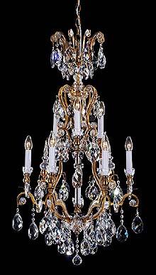 Bronze Crystal Chandelier Model: MD8092-10L