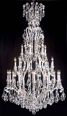 Bronze Crystal Chandelier Model: MD8092-25L