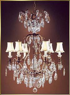 Bronze Crystal Chandelier Model: MU-2370