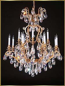 Bronze Crystal Chandelier Model: MU-4025