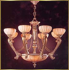 Alabaster Chandeliers Model: RL 1306-95