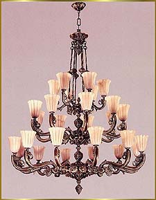 Alabaster Chandeliers Model: RL 379-120