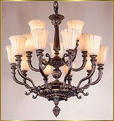 Alabaster Chandeliers Model: RL 386-81