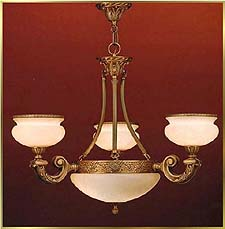 Alabaster Chandeliers Model: ALJ 8874