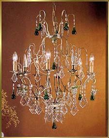 Bronze Crystal Chandelier Model: BB 3309-5