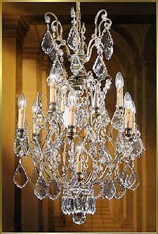 Bronze Crystal Chandelier Model: BB 3321-9