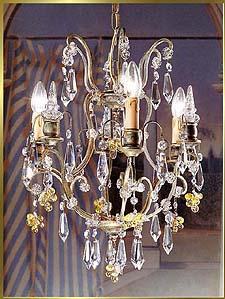 Bronze Crystal Chandelier Model: BB 3326-3