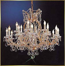 Maria Theresa Chandeliers Model: CL 8118