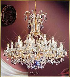 Maria Theresa Chandeliers Model: CL 8139