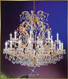 Maria Theresa Chandeliers Model: CL 8141